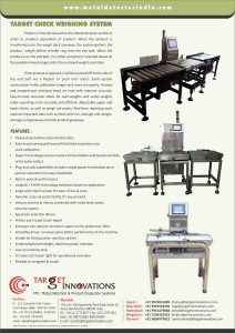 Check Weigher - Back